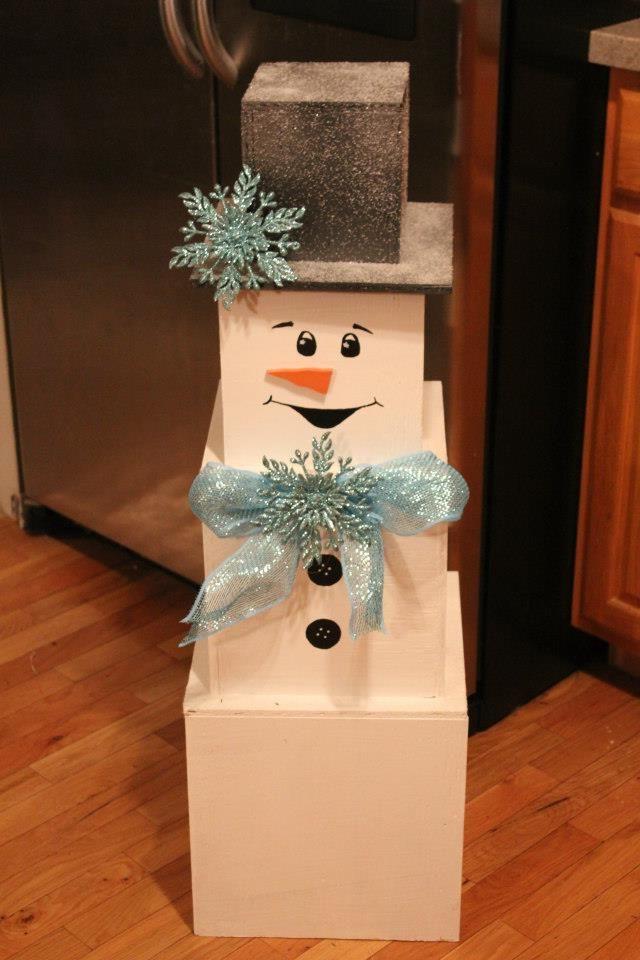 Bonhomme de neige - si vous voulez avoir votre propre bonhomme de neige dans votre salon, nos astuces vont vous aider!