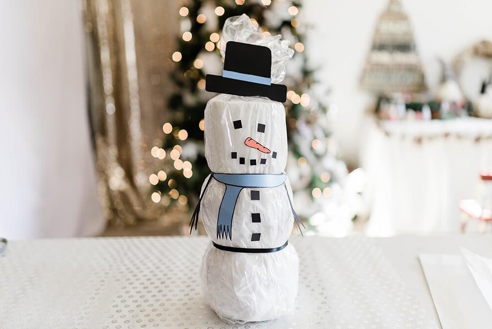 Bonhomme de neige à fabriquer soi-même