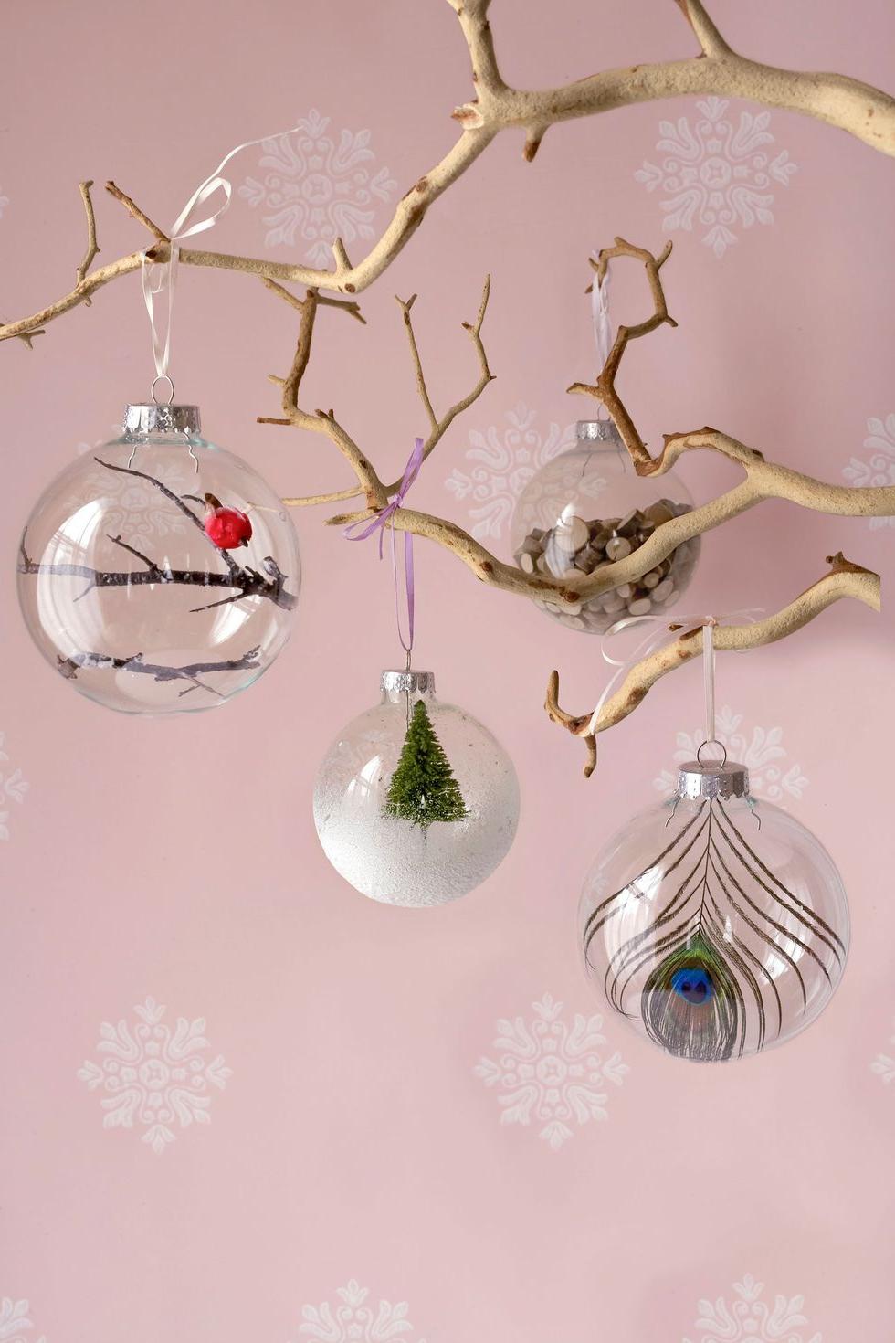 Boule de Noël - une idée créative pour réaliser avec vos enfants