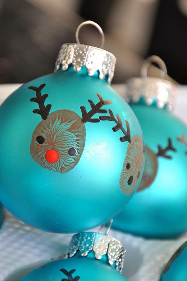 Boules de Noël originelles à faire soi-même