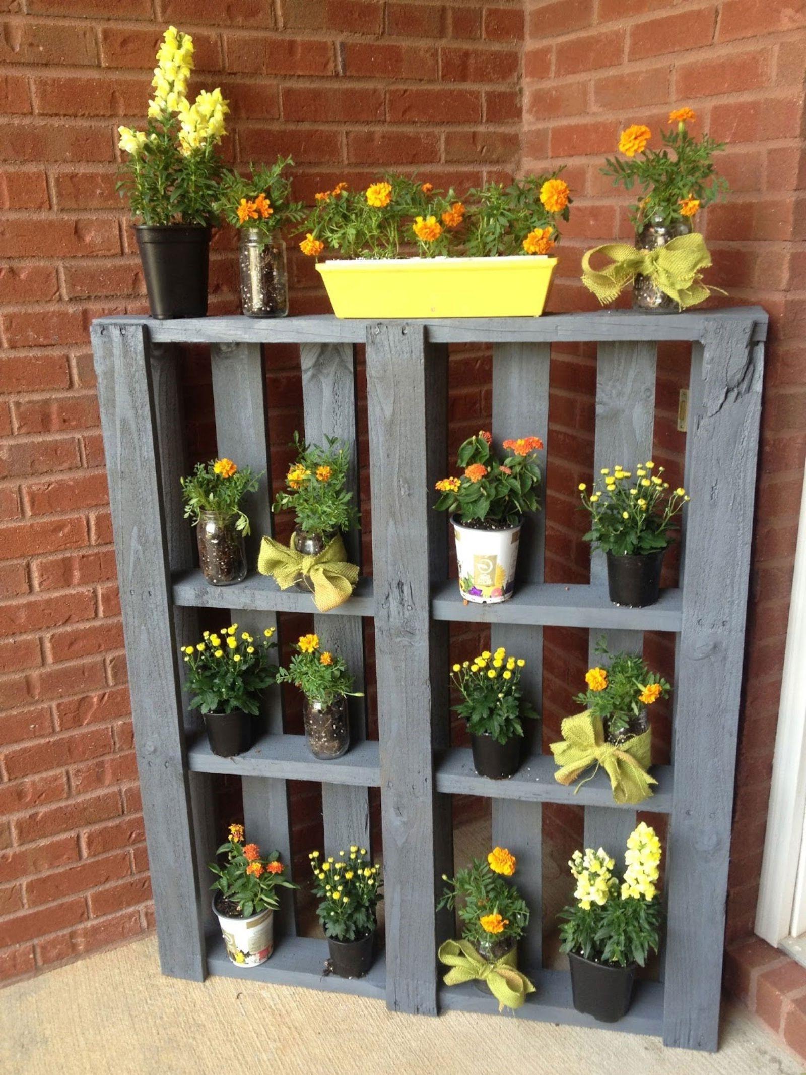 Donnez à vos plantes un espace spécial à l'extérieur.