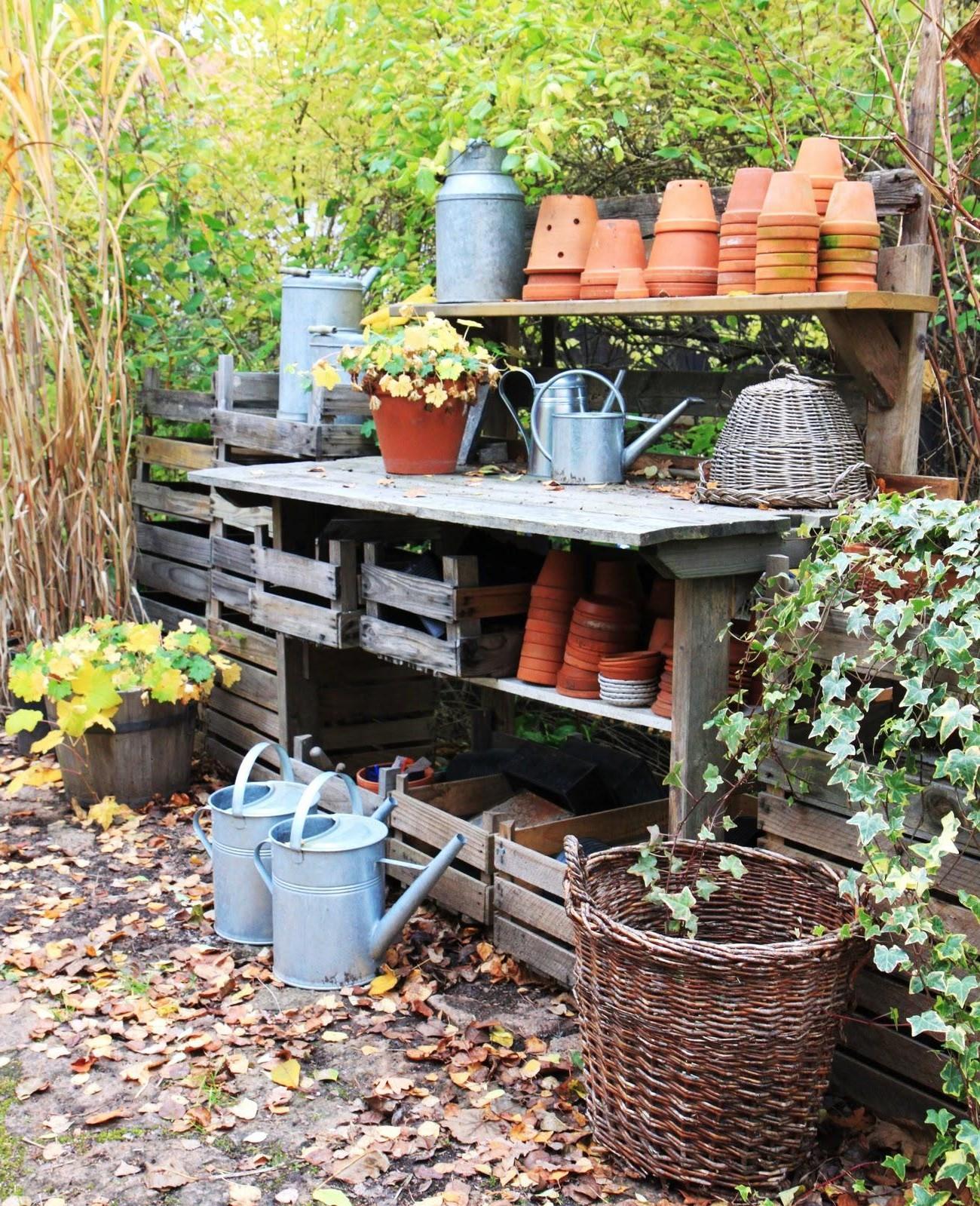 Projet de bricolage de jardin facile.