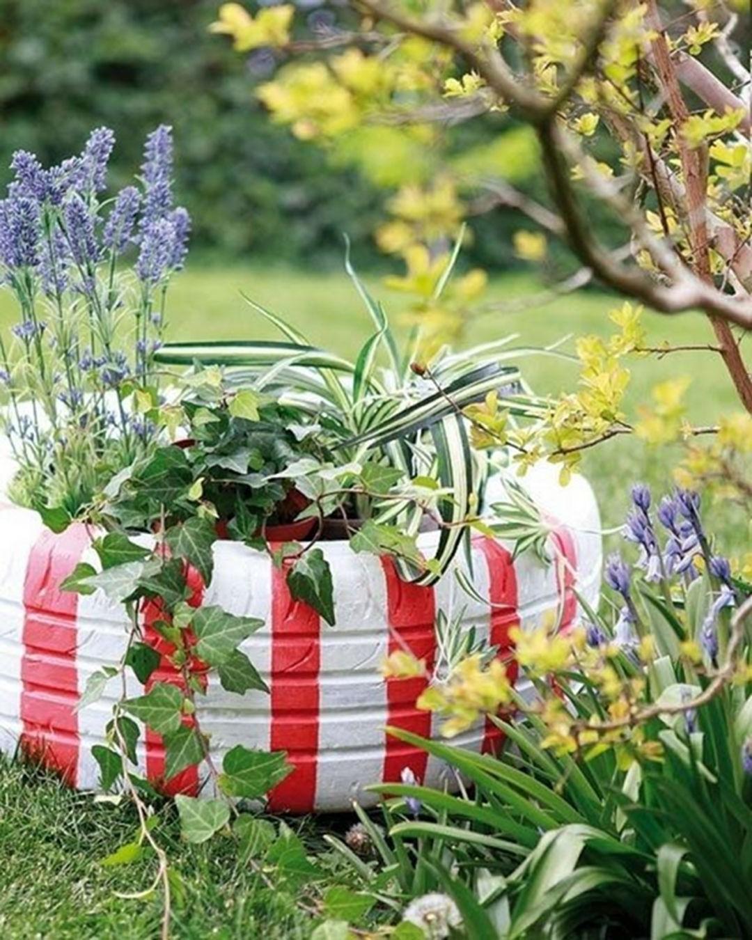 Jardinière créative pour vos plantes.
