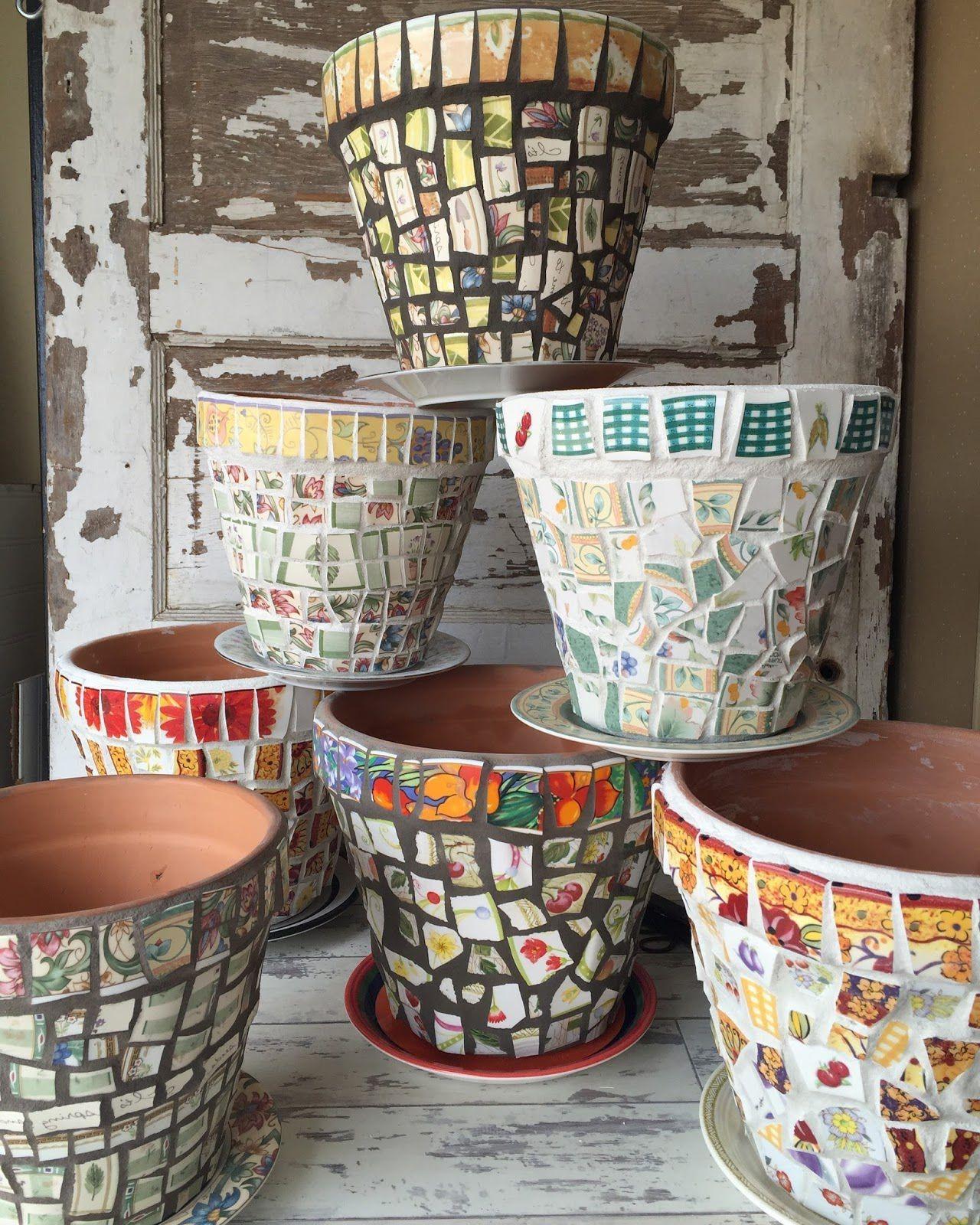 Donnez une nouvelle vie à de vieux pots.