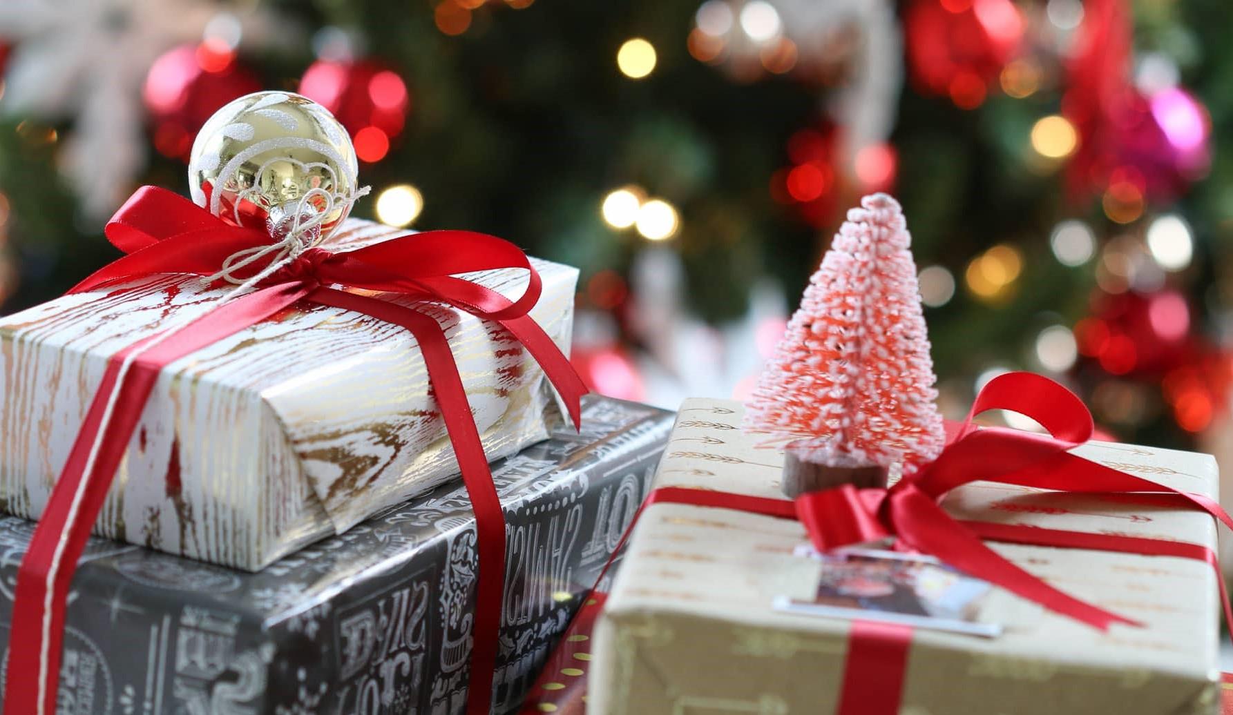 Soyez créatifs lorque vous emballez les cadeaux.