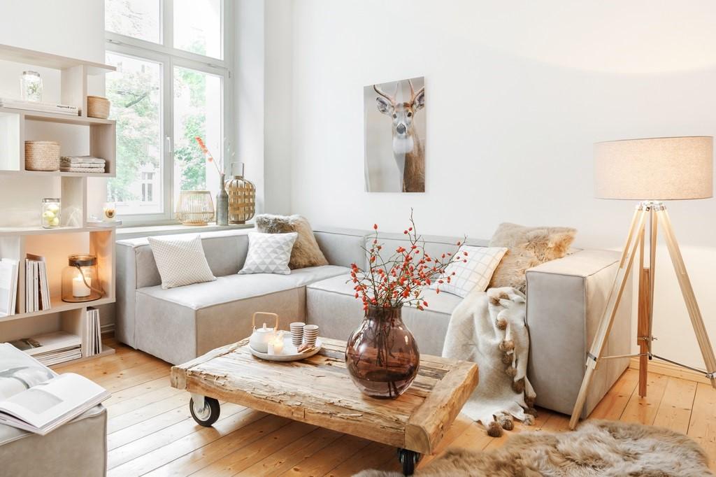 Projet de bricolage: table basse en bois récuperé et en palette.