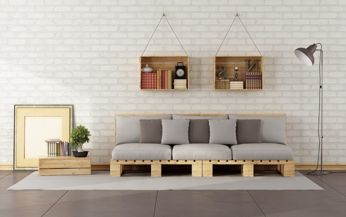 Canapé bon marché pour votre salon.