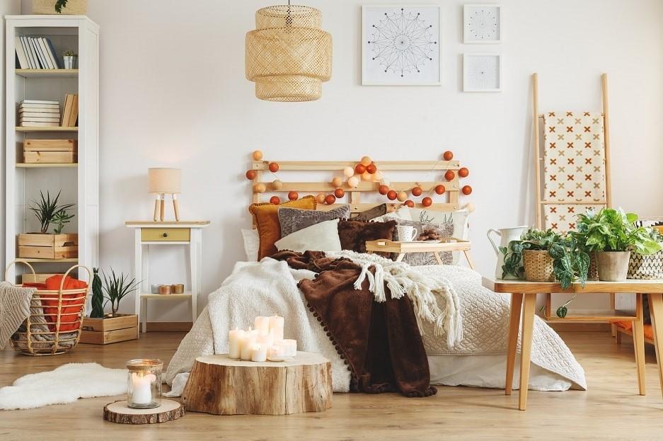 Déco en palette facile: Tête de lit.