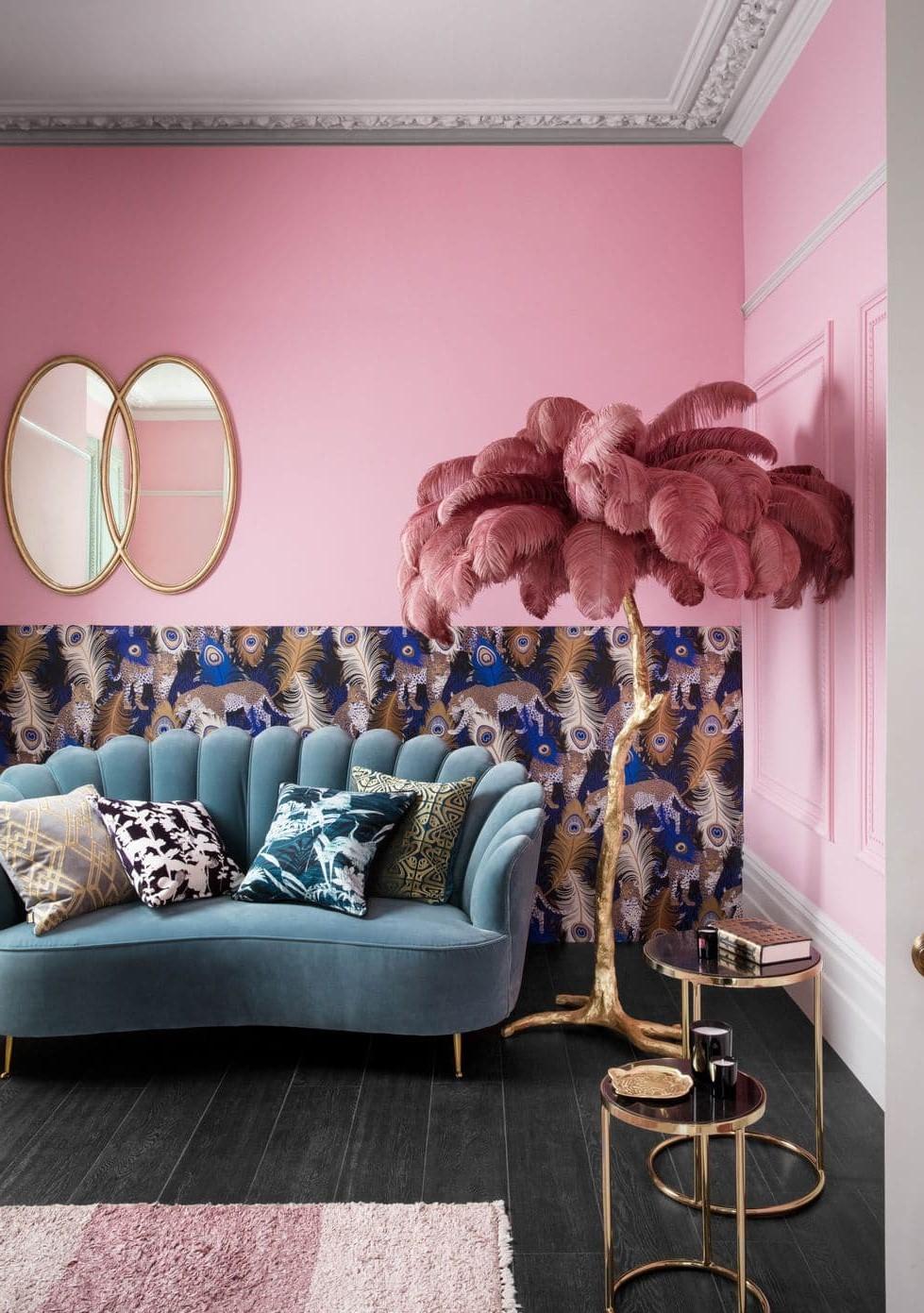 Donnez du caractère à votre maison avec des dessins basés sur des couleurs, des motifs et des textures.