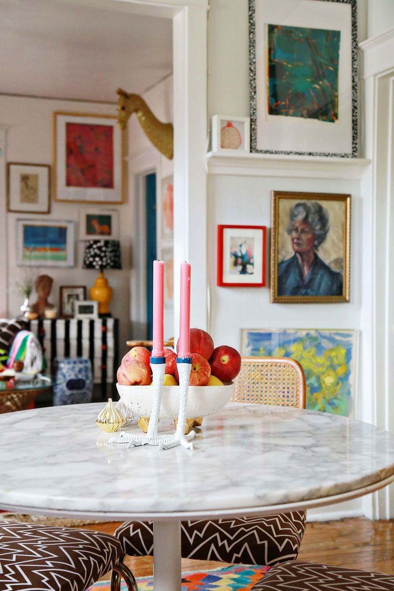 Si vous rêvez d'une maison maximaliste mais que vous ne savez pas par où commencer, essayez-le d'abord à petites doses pour éviter de vous y perdre.
