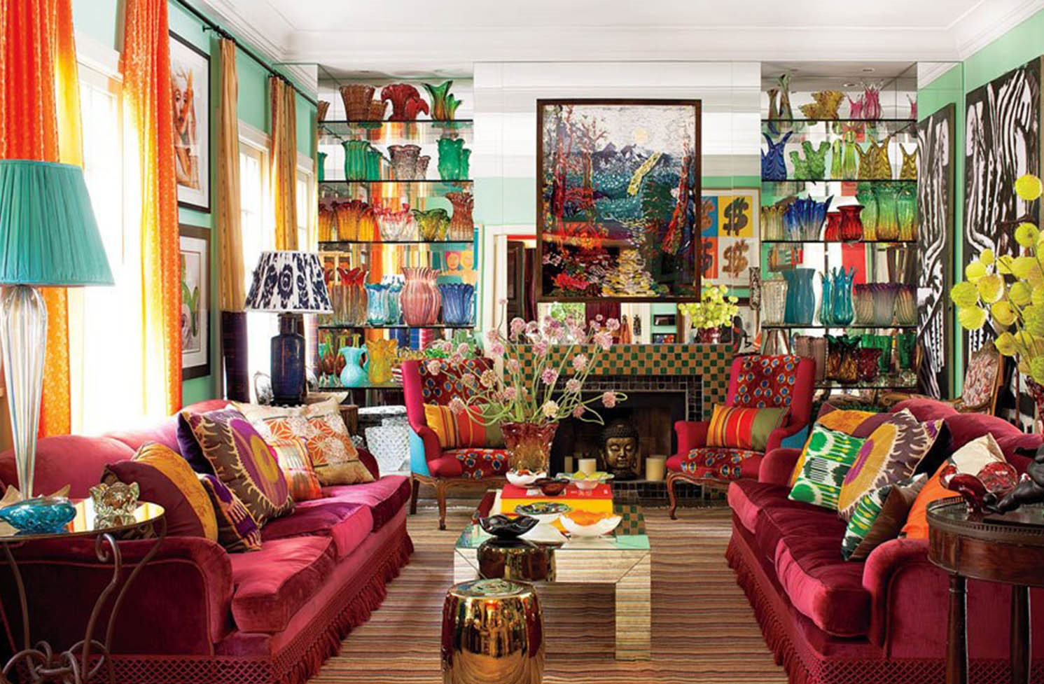 Au lieu de cela, choisissez simplement ce qui vous rend heureux et ce qui transforme votre appartement en votre maison.