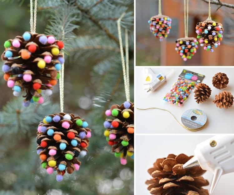 Boules de Noël à fabriquer à petit prix