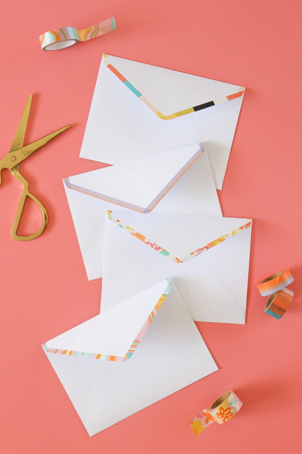Faites une enveloppe DIY facile en moins de 30 minutes.