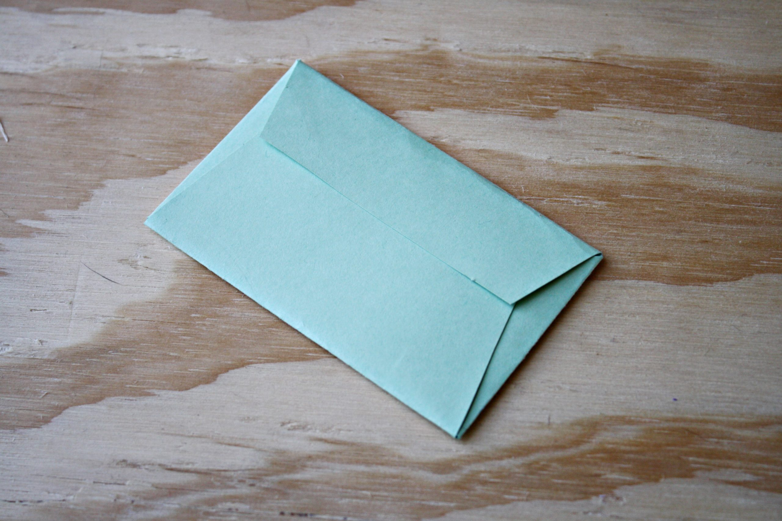 Enveloppe DIY très facile.