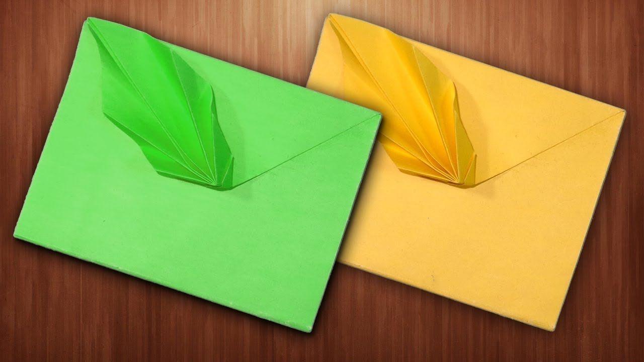Enveloppes bricolage faciles à fabriquer.