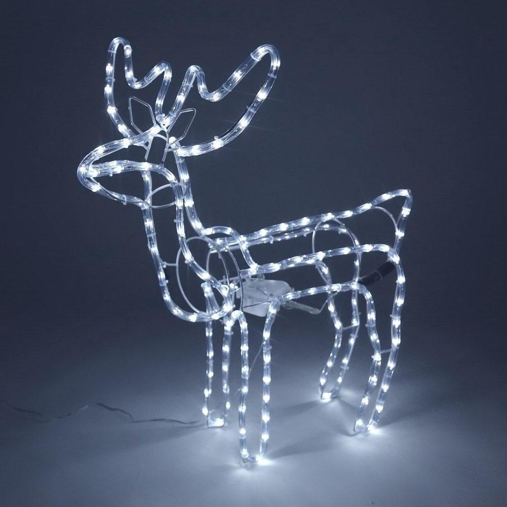 Caribou lumineux LED.