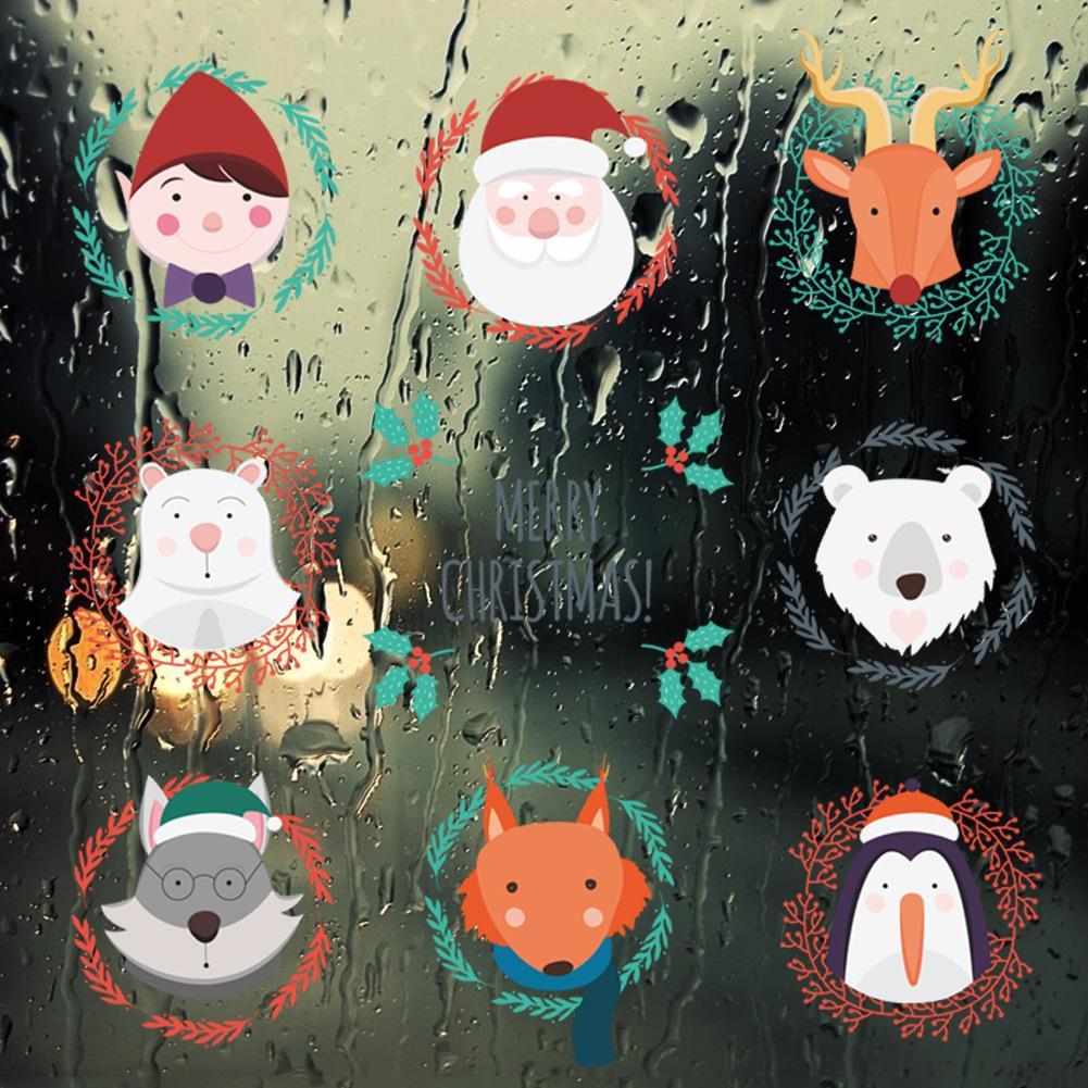 Déco de Noël GiFi: déco de fenêtre.