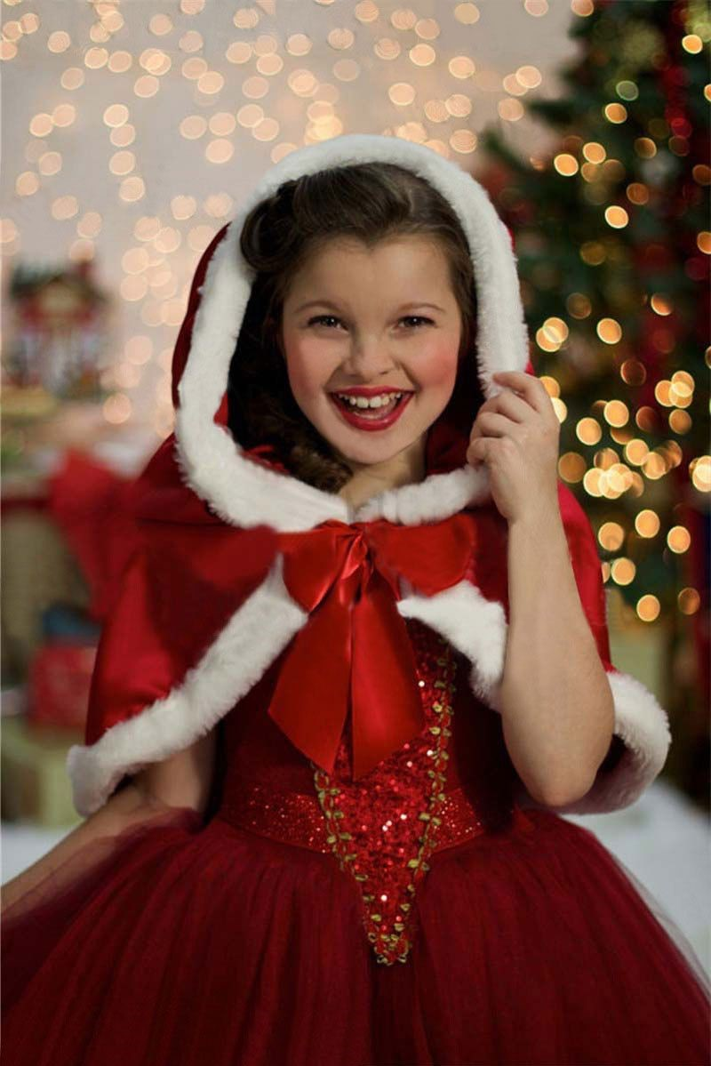 Déco de Noël GiFi: déguisement de Noël pour fille.