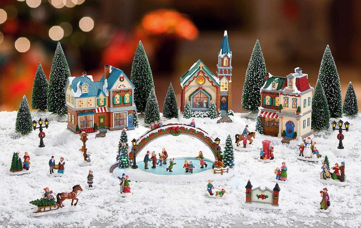 Village de Noël.