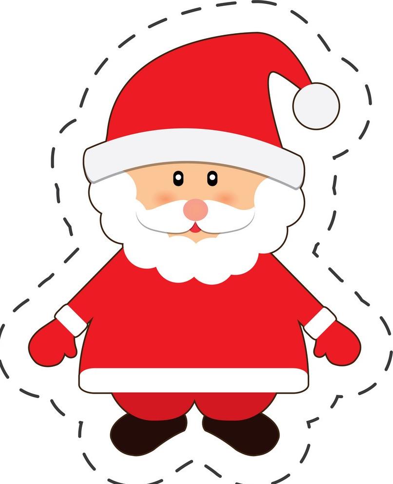 Alternative aux Boules de Noël DIY - Pere Noel gommette