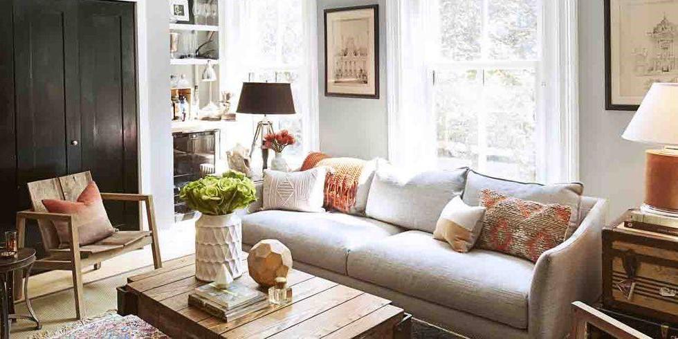 Choisissez quelques meubles en taille réelle au lieu d'en ajouter quelques-uns plus petits.