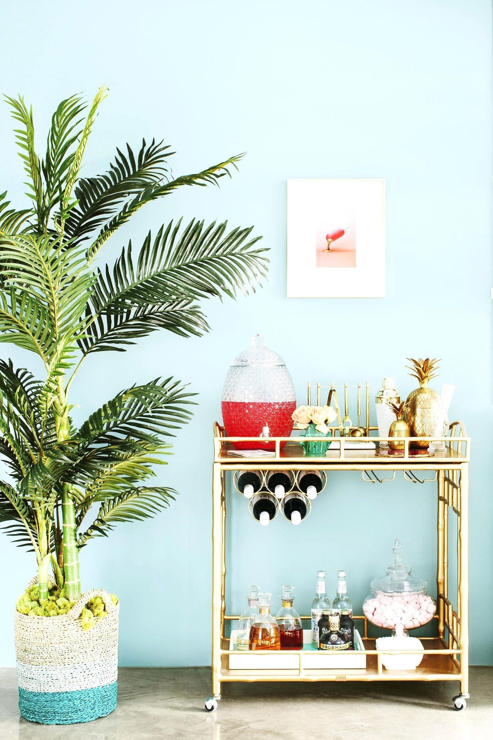 Ajoutez de grandes plantes exotiques.