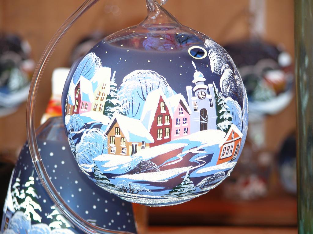 Idée de Boules de Noël à faire soi-même