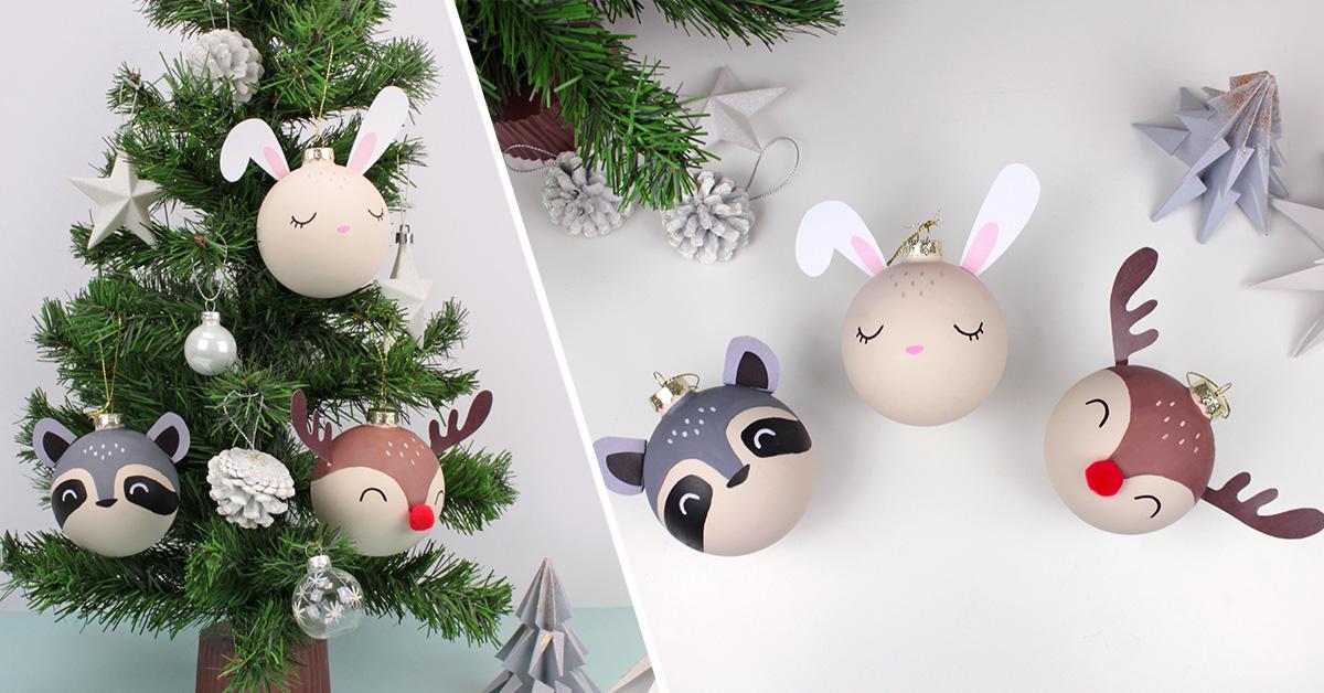 Une excellente alternative aux Boules de Noël traditionnelles à faire soi-même