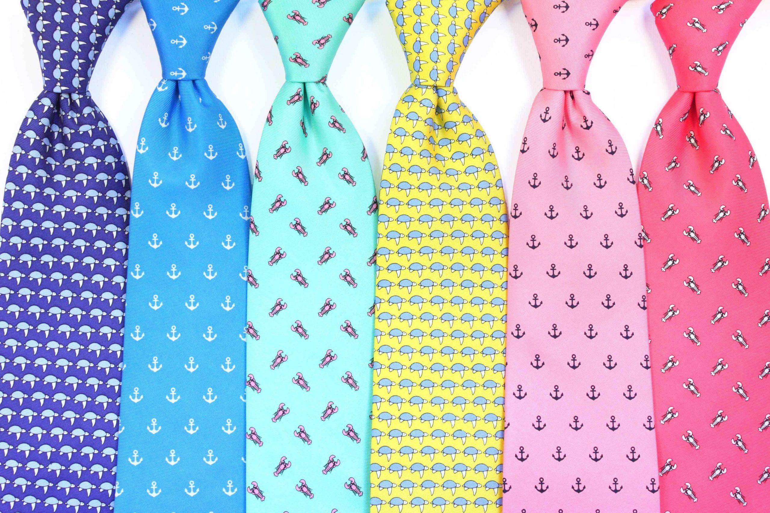 Cravates élégantes.