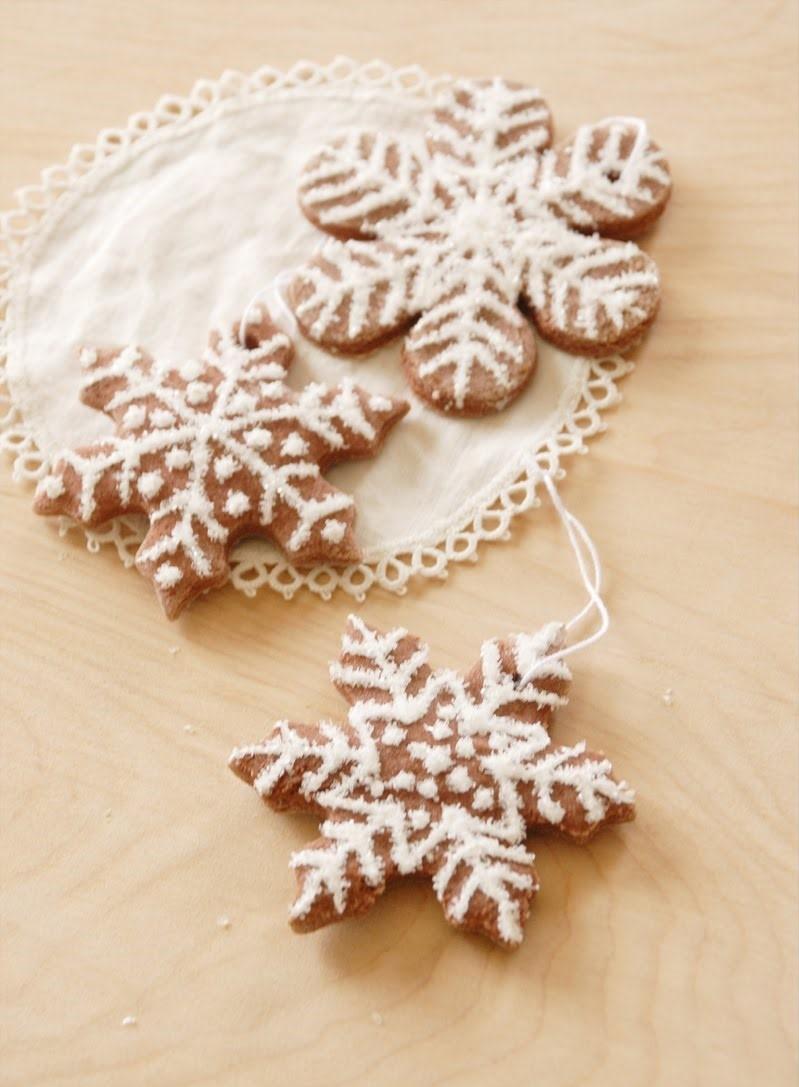 Flocons de neige DIY.