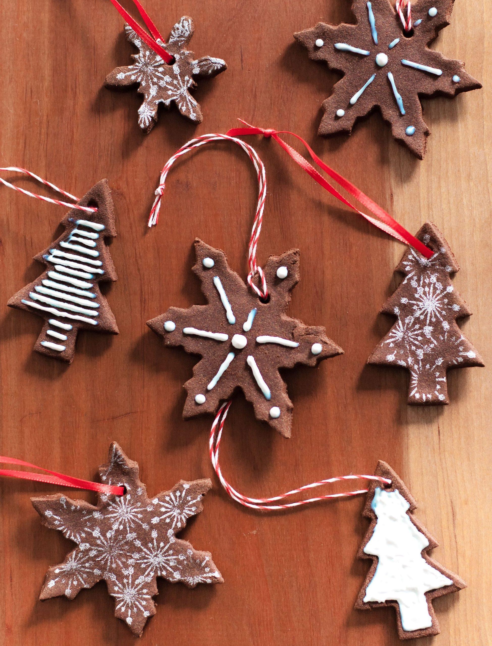 Décorations DIY pour votre sapin de Noël.