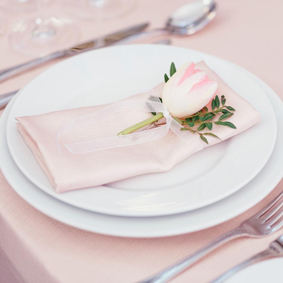 Idée de pliage de serviette pour votre mariage.