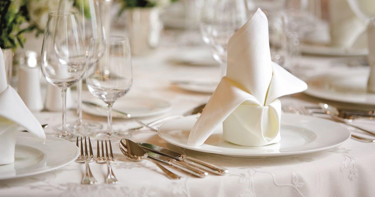 Décoration de table élégante.