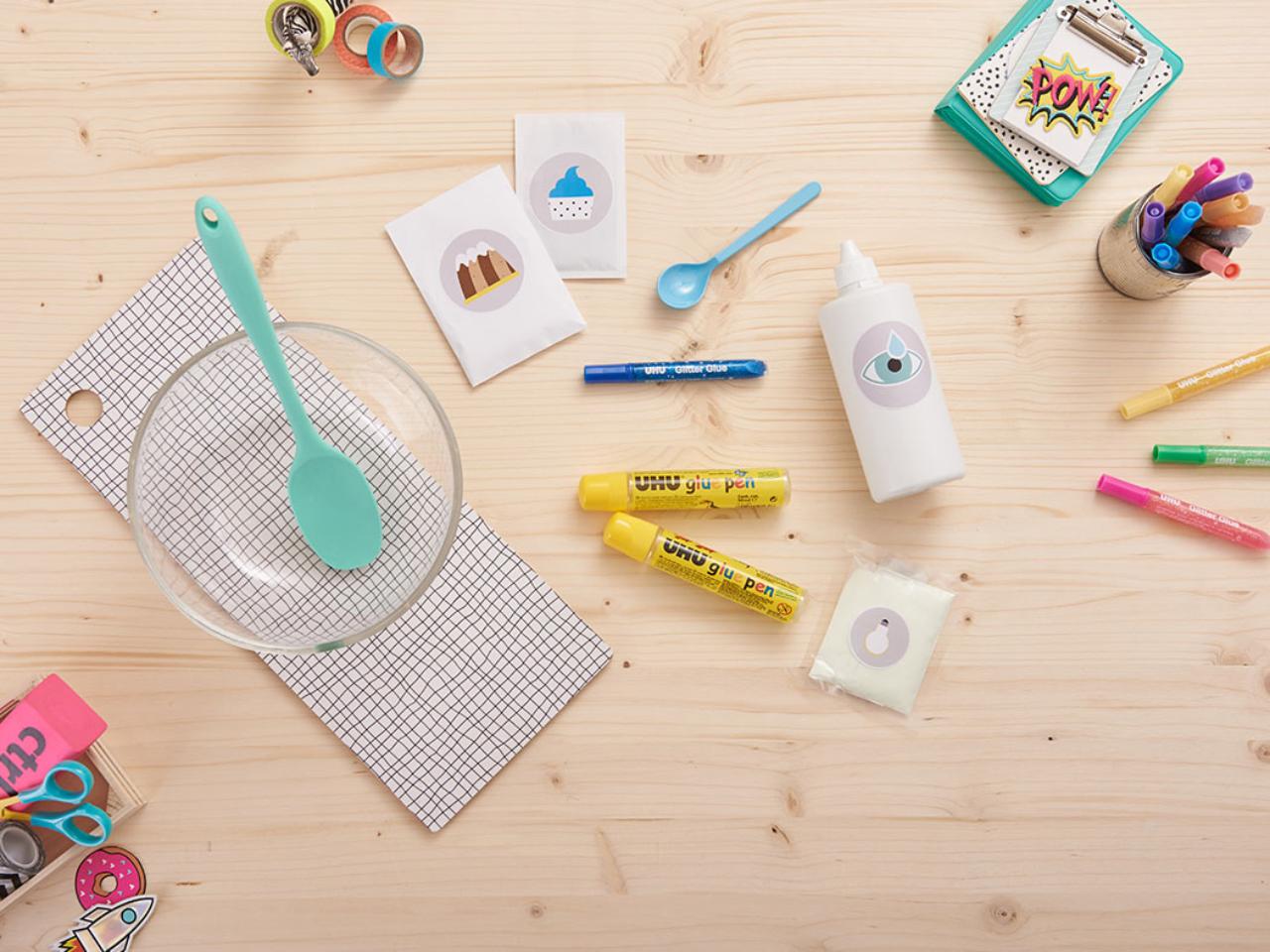 Tuto d'activité manuelle: comment faire un slime?