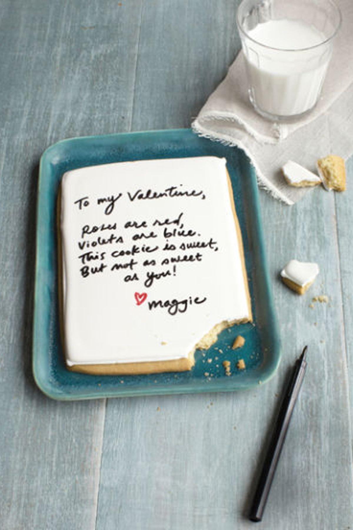 Déclarez votre amour à votre bien-aimé avec cette douce surprise.