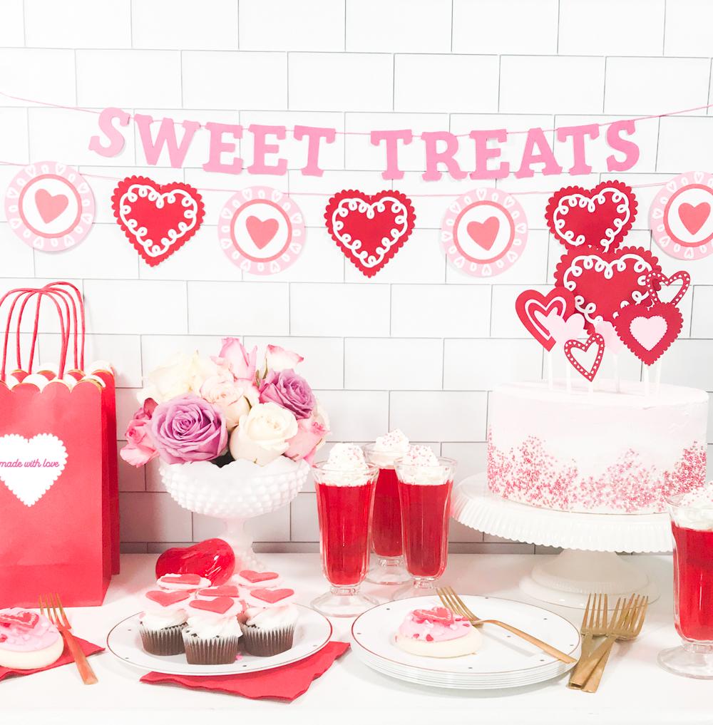 Activités de la Saint-Valentin: décoration DIY festive et romantique.