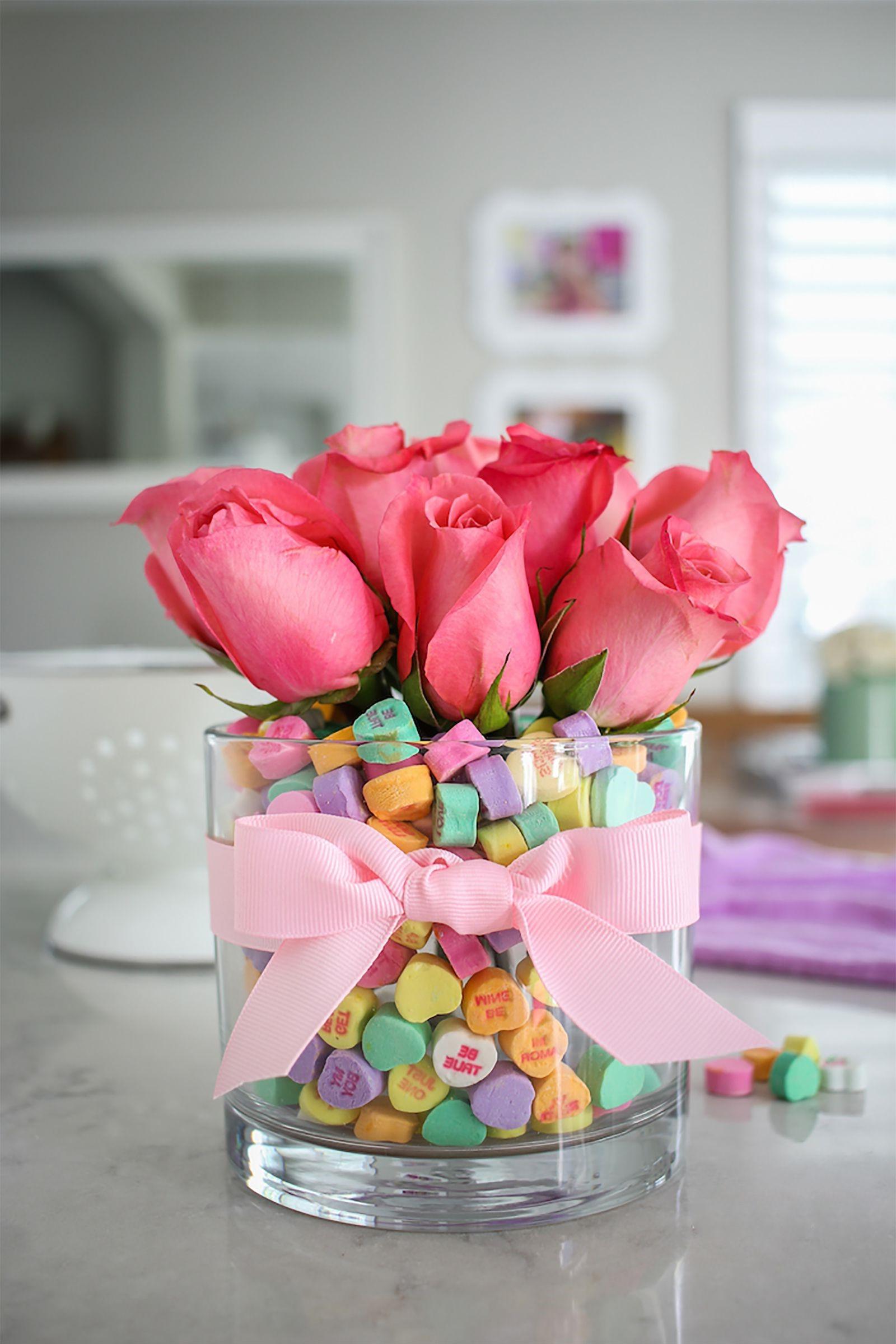 Bouquet romantique.
