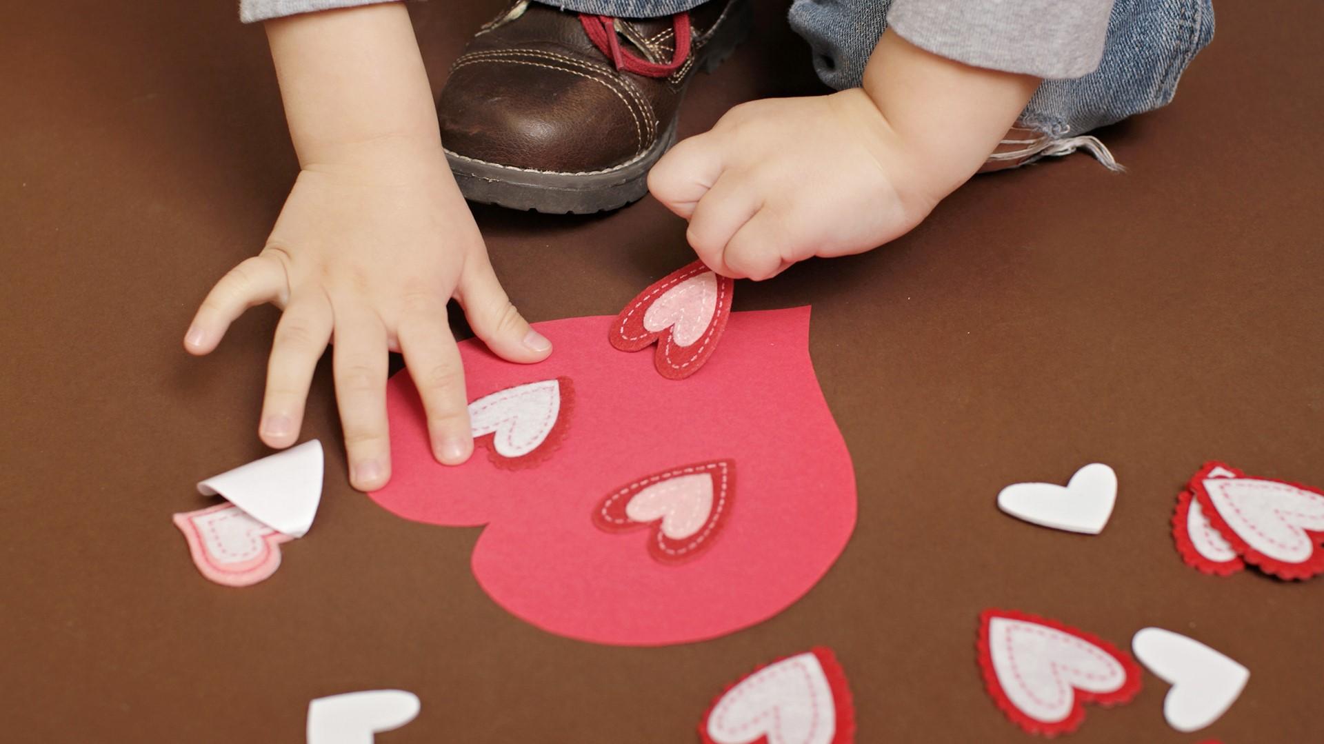 Activités de la Saint-Valentin pour les enfants.