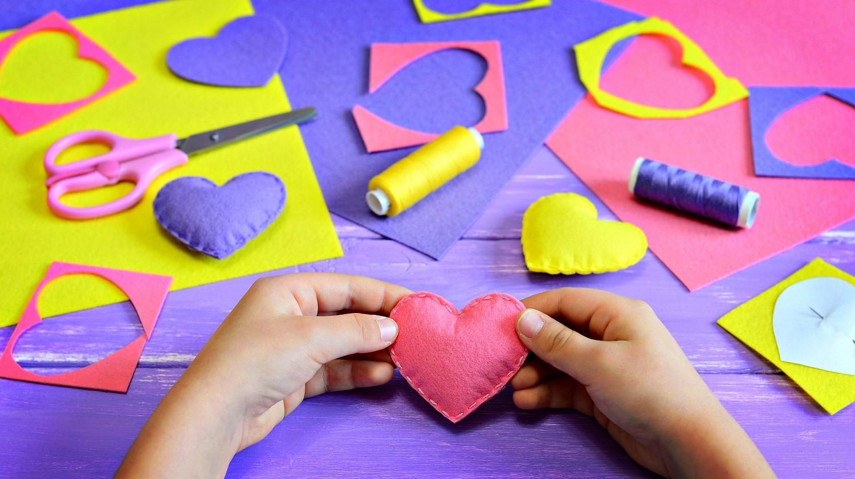 Activités de la Saint-Valentin créatives.