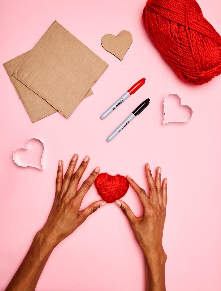 Activités de la Saint-Valentin.