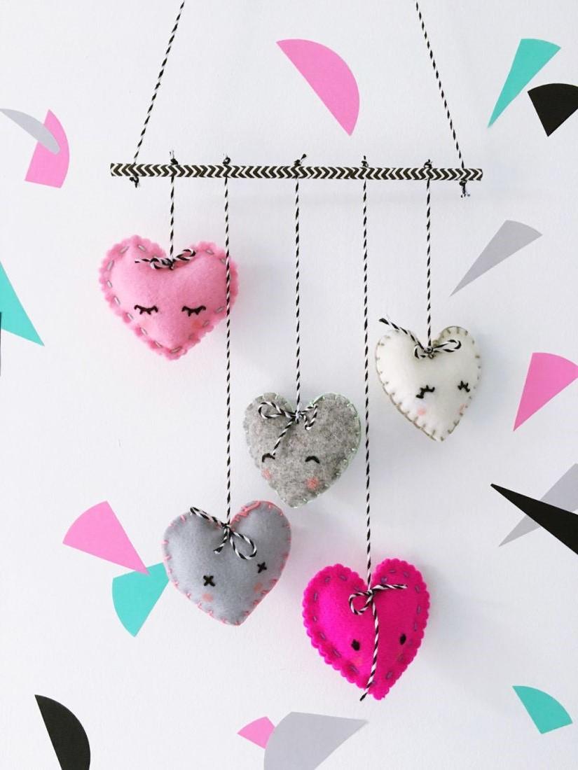 Activités de la Saint-Valentin: décoration DIY facile.