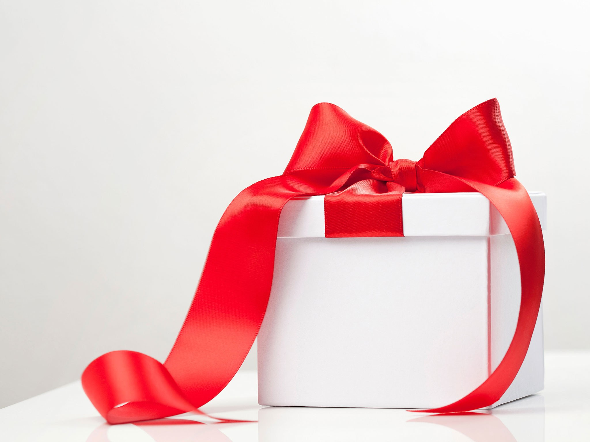 Boîte cadeau élégante.