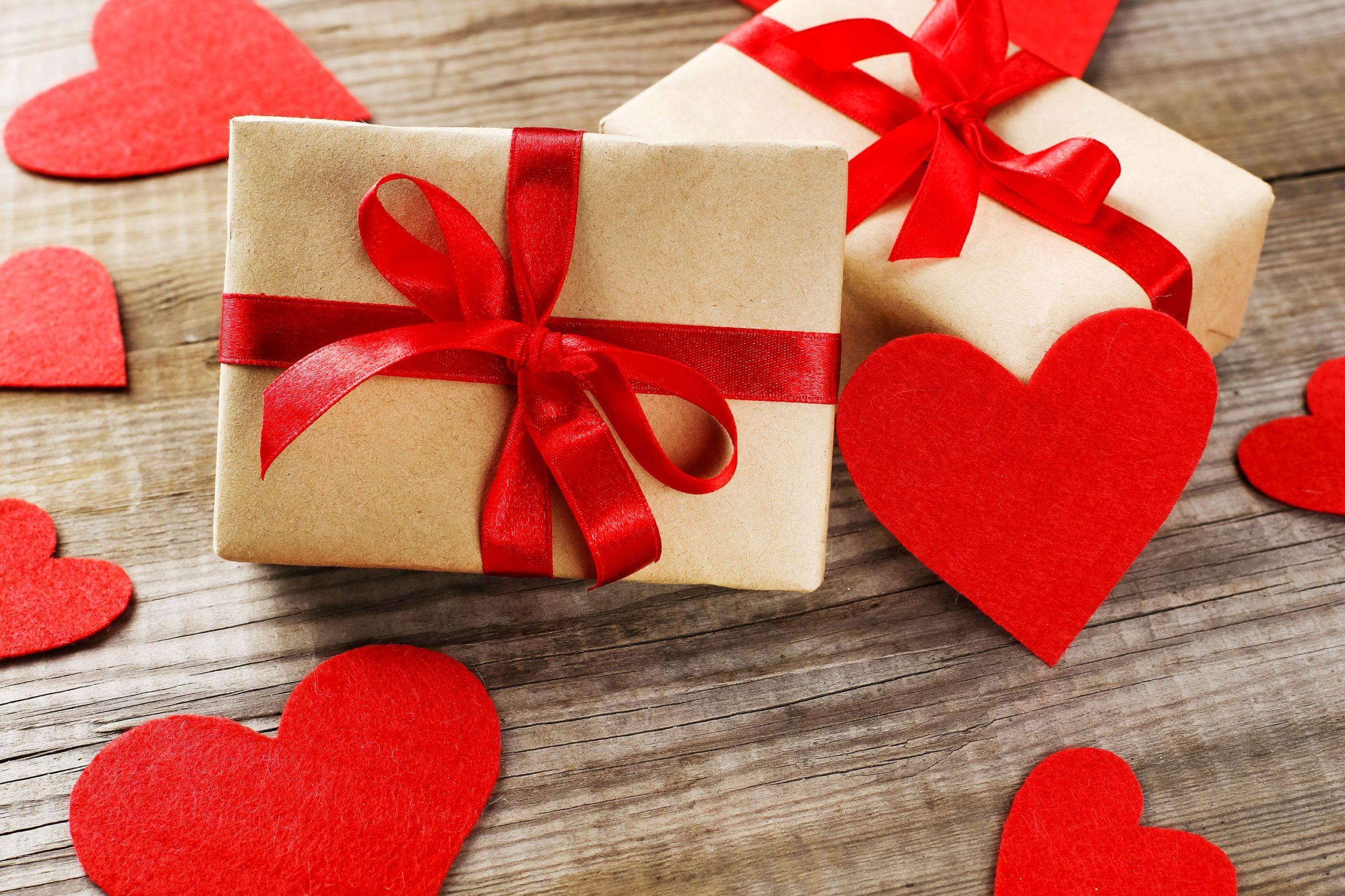 Boîte DIY pour la fête des amoureux.
