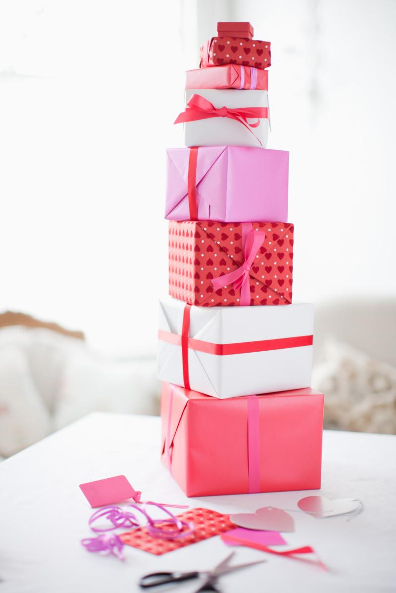 Boîtes cadeau DIY.