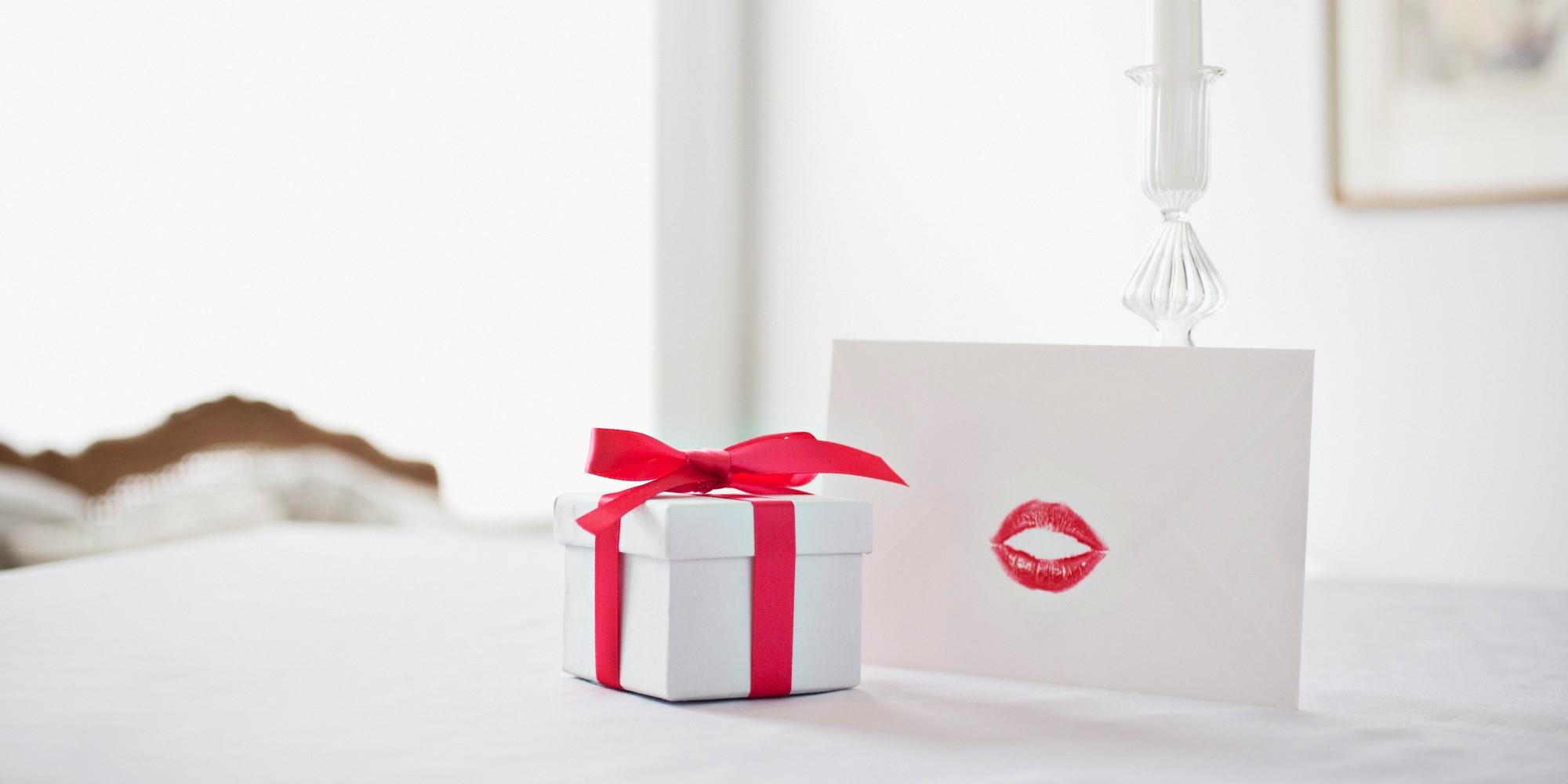 Boîte cadeau pour la Saint-Valentin fabriqué en carton.