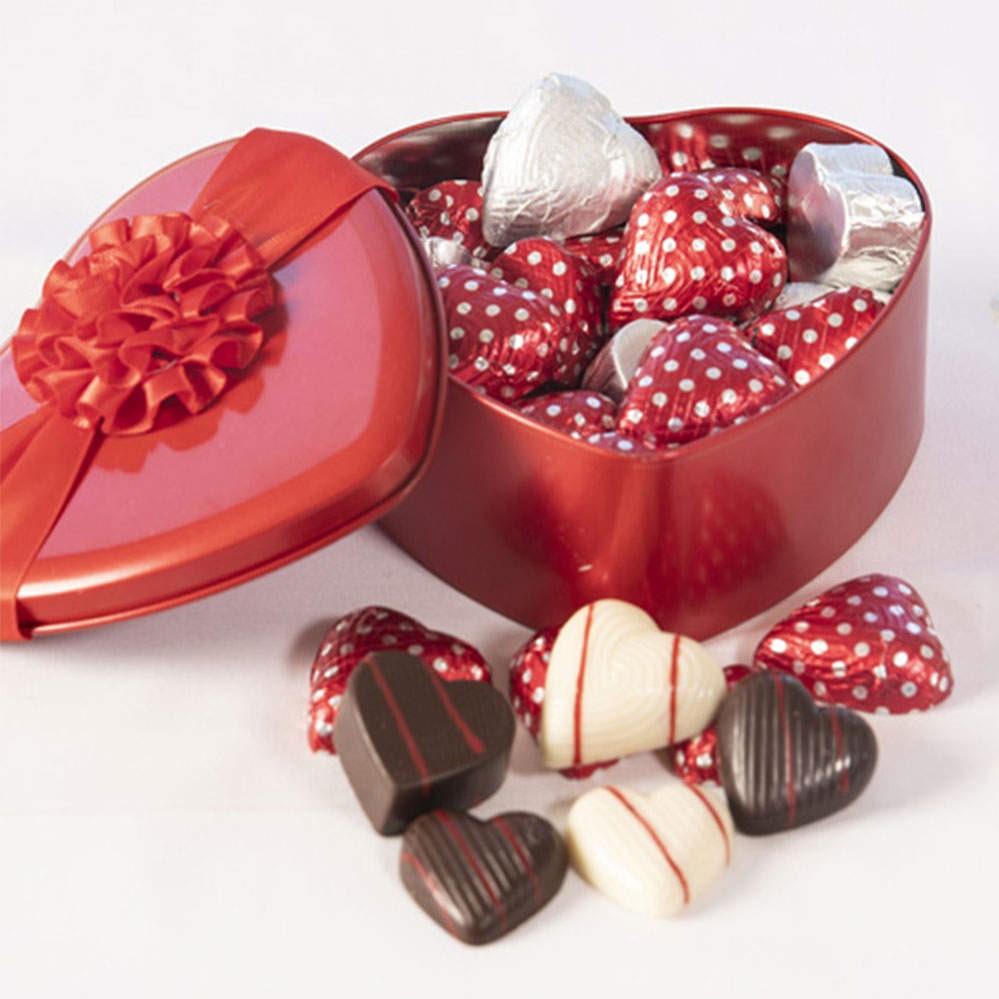 Bonbons au chocolat.