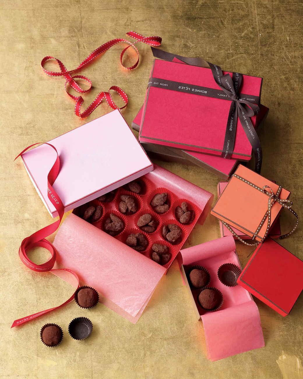 Bonbons au chocolat luxueux.