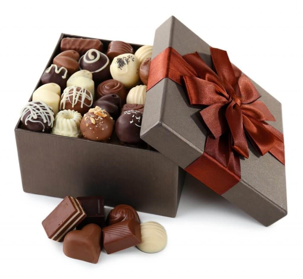 Chocolat luxueux pour la Saint-Valentin.