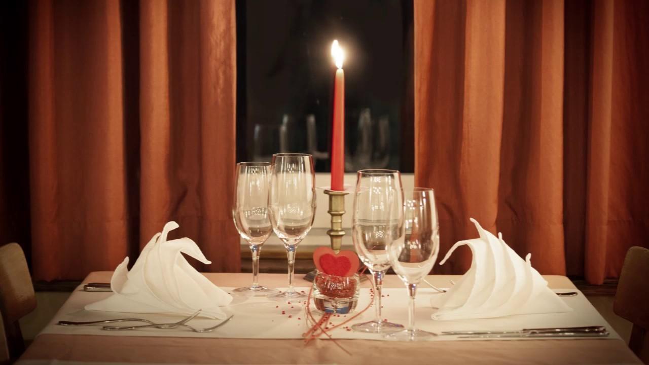 Dîner spécial et romantique pour votre amour.