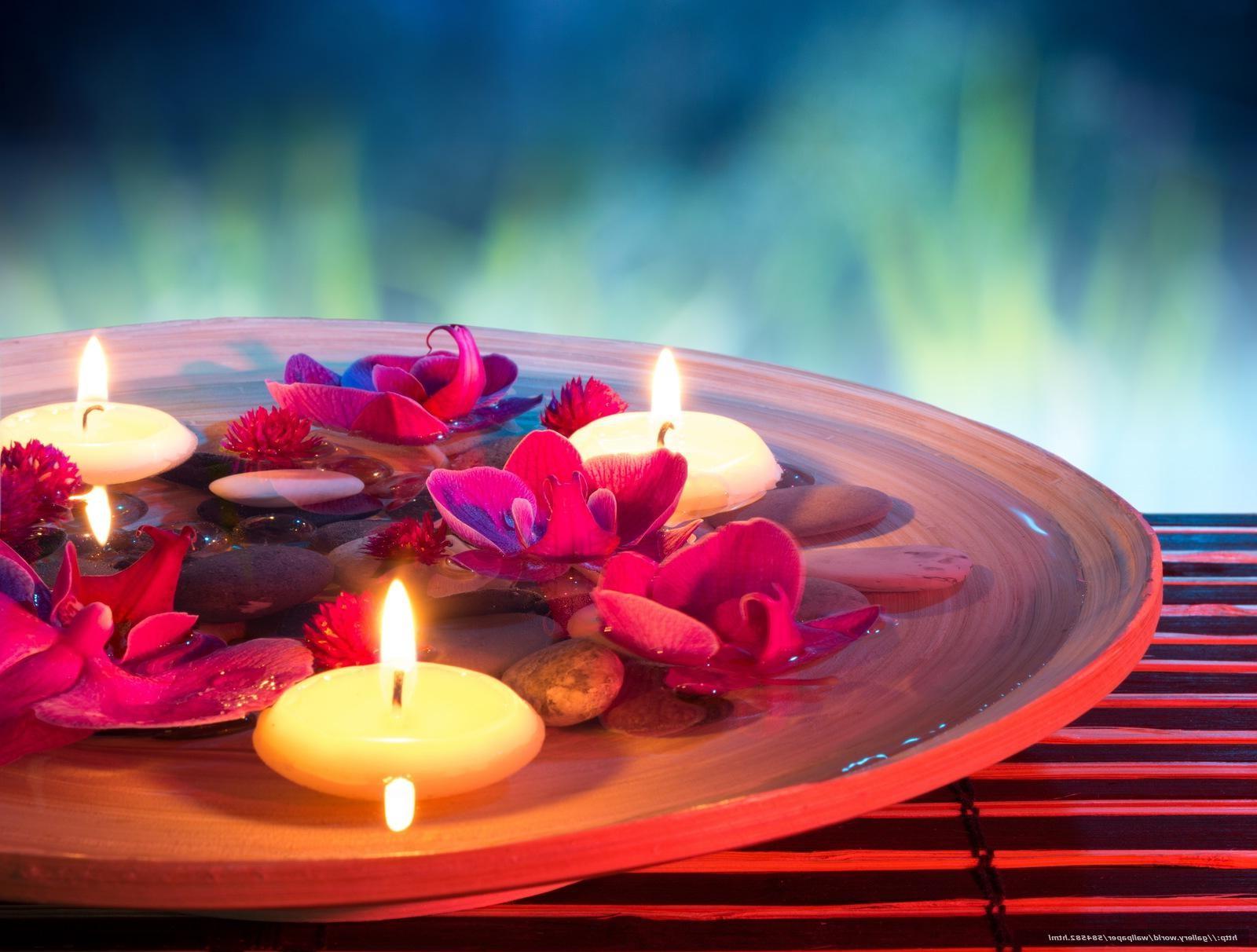 Atmosphère romantique pour la fête des amoureux.
